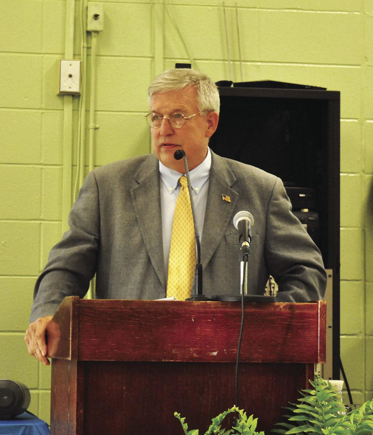 Speaker Bill Crawford