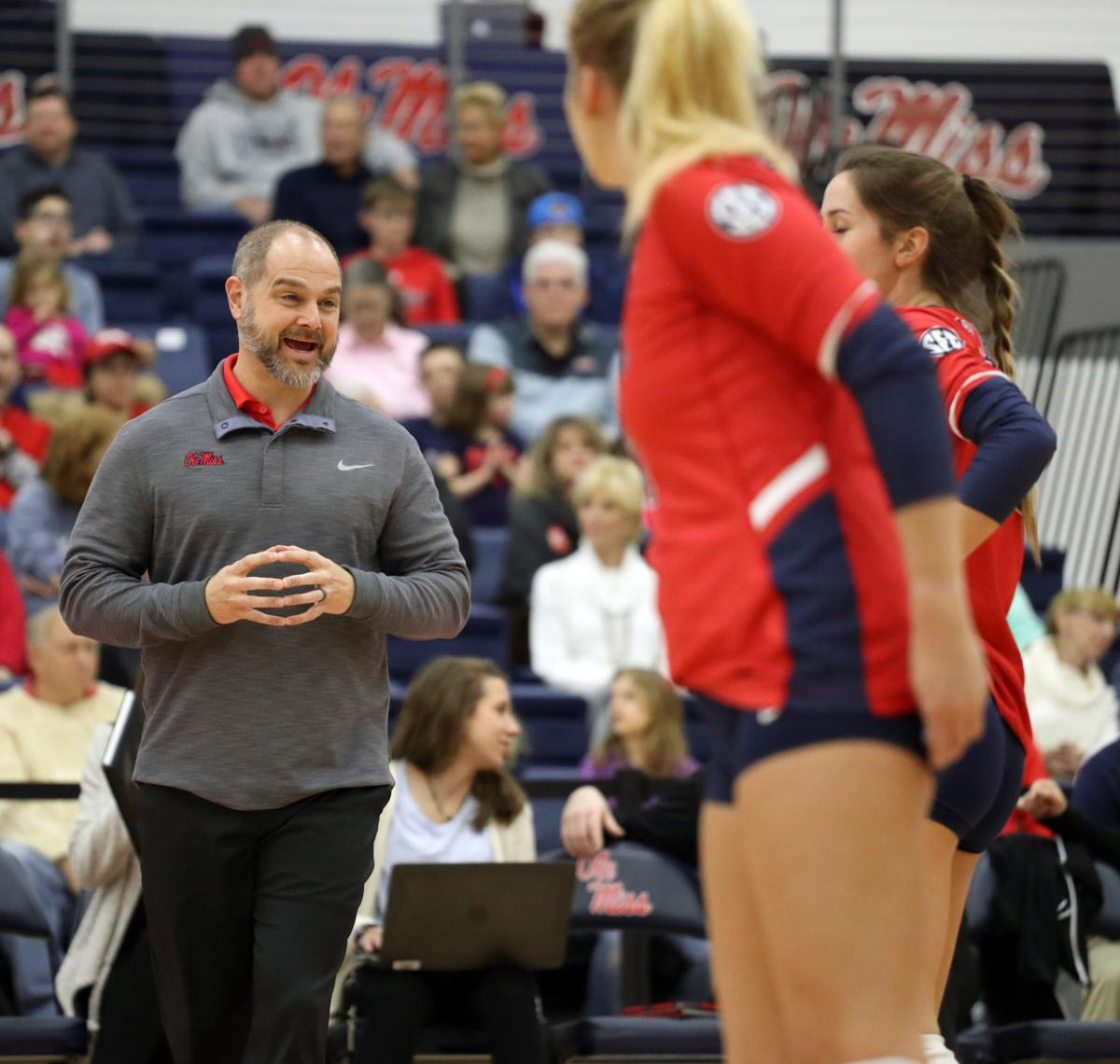 Volleyball Coach Leaving Ole Miss Sports Djournal Com