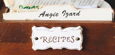 Recipes: Angie Izard