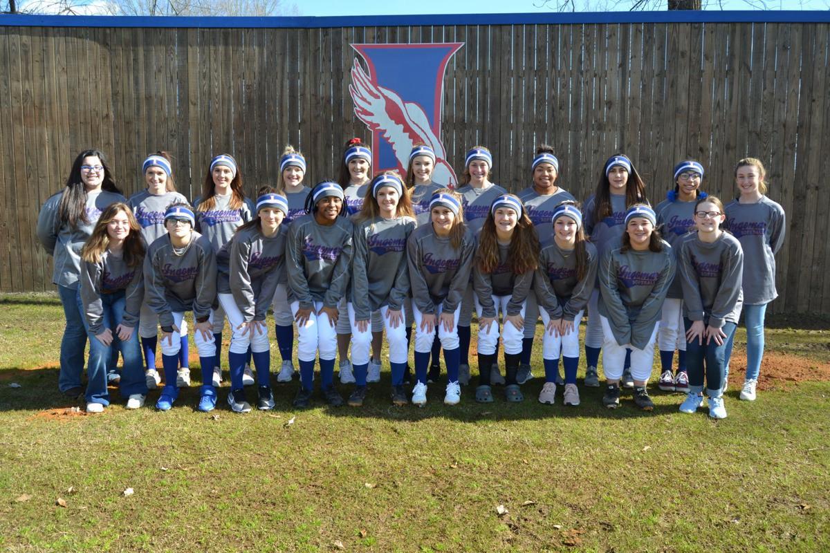2020 Ingomar Lady Falcons Softball Team