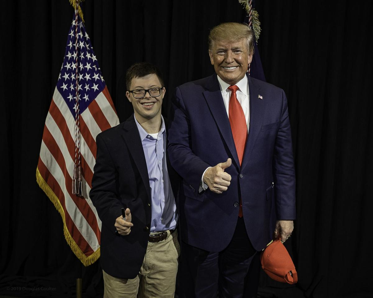 Spencer and President Trump