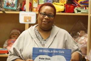 Teaching to care: Leach assists in early education of children