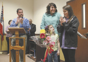 Staci Bevill named Lee County Parent of the Year