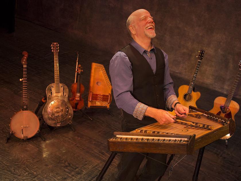 Folk musician McCutcheon found music in the revolution