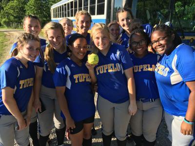 Tupelo's big hitter, Lauren Knight