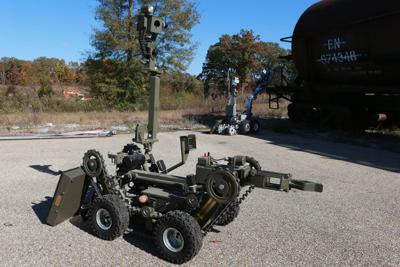 Bomb squad robots help keep region safe