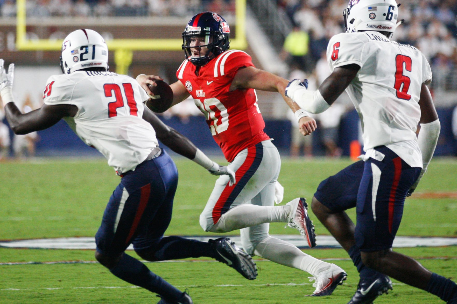 Shea Patterson discusses season-opening performance — RGTV