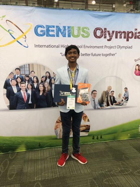 Oxford boy combines science, Scouting to earn national recognition