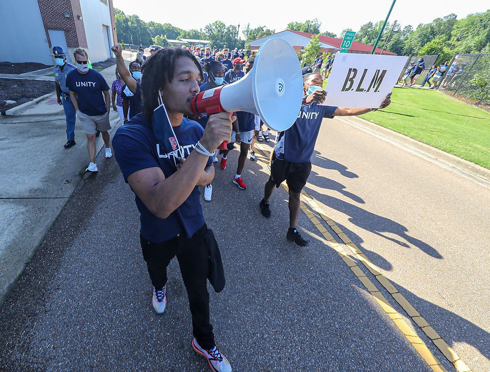 Ole Miss Unity Walk