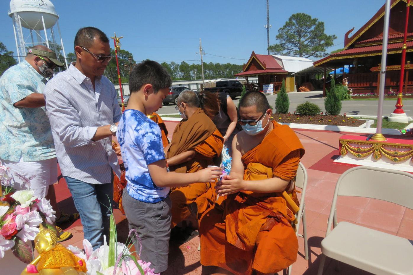 Exchange Monk's Temple Transformation #1