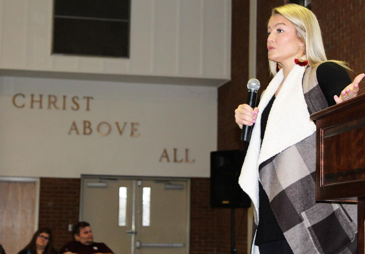 Former MSU basketball standout shares story of her journey