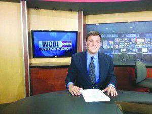 Hamilton native interns at WCBI, receives sports position for fall