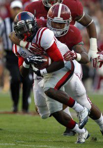 Rebels' once dominating run game cools off
