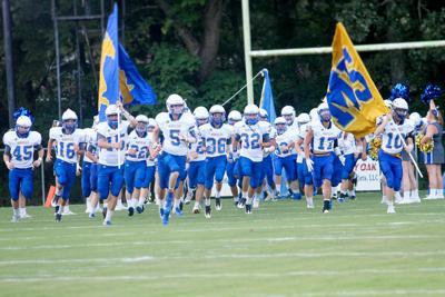 Mustangs on the Field