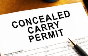 Governor signs concealed carry bills