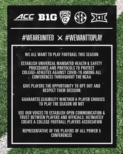 #WeWantToPlay statement