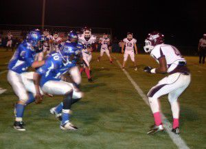 Lions roar to victory on homecoming