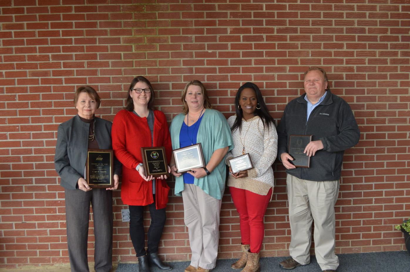 North Tippah School Board Principals Recognize Teachers Of The Year At Recent Board Meeting News Djournal Com