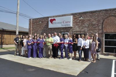 HomeCare Hospice ribbon-cutting