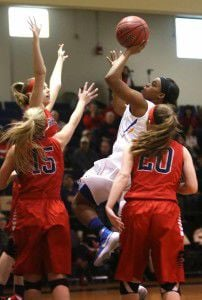 Bedeviled: Half-court trap stymies Lady Cardinals