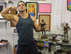 Amory native officially named pro body builder