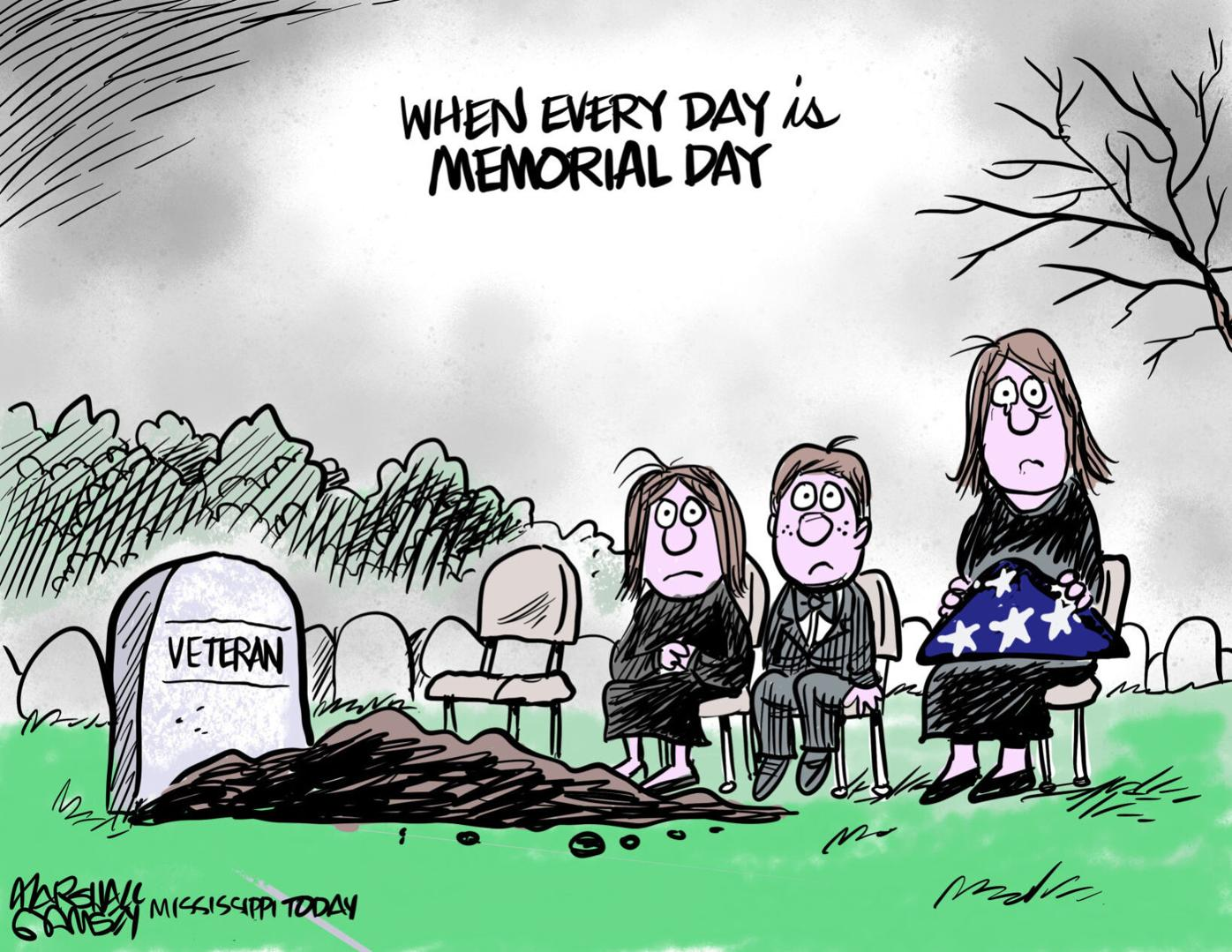 MARSHALL RAMSEY: When every day is Memorial Day