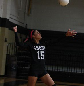 Amory volleyball closes out home slate