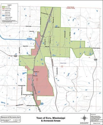Post Annex with Annexed Areas