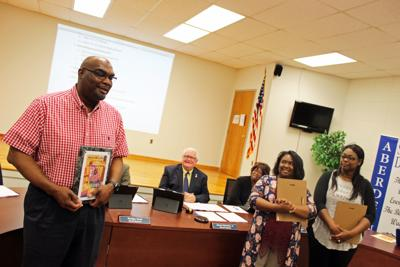 Harden named Aberdeen School District Parent of the Year