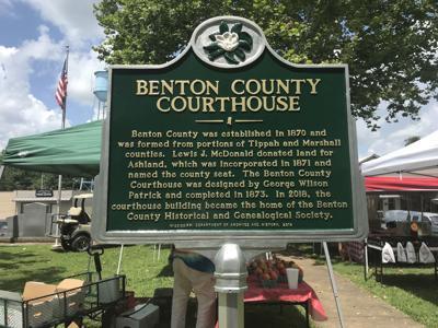 Benton County Courthouse Marker