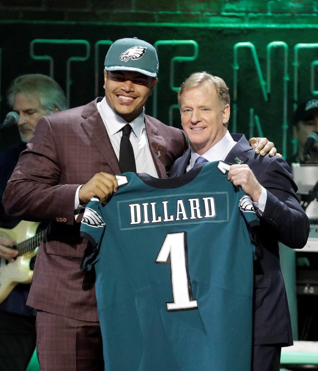 411ad36c211 Eagles pick Dillard in 1st round
