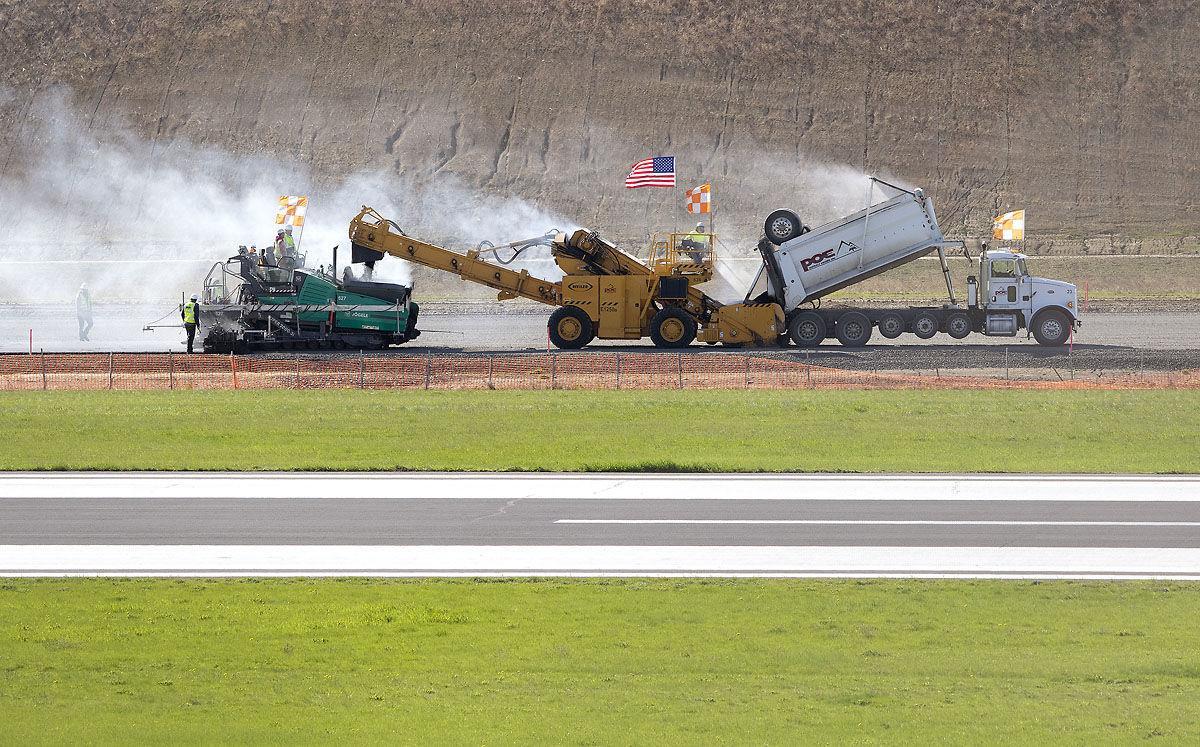 Pullman Airport Paving