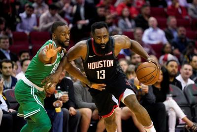 Harden scores 42, Rockets cool off Celtics with 116-105 win