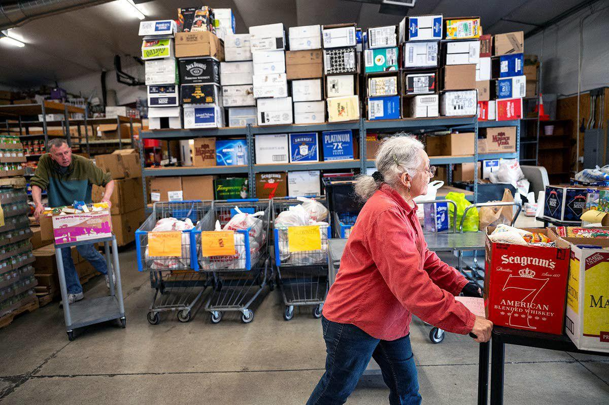 Food banks seeking donations for those in need
