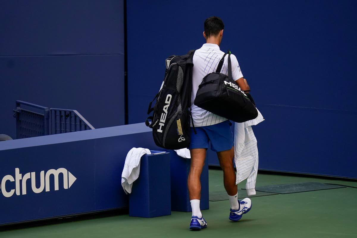 Djokovic Out Of U S Open After Hitting Line Judge With Ball Sports Dnews Com