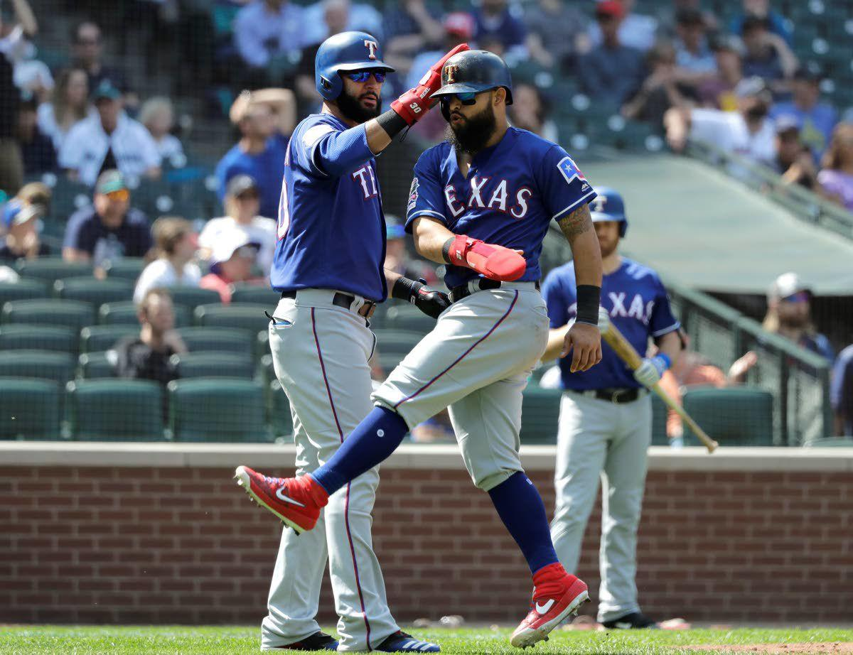 Rangers take advantage of Mariners miscues, rally to win 8-7