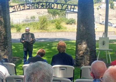 Memorial honors Palouse soldier lost to war a century past