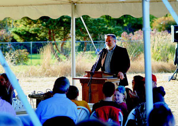 Logos supporters celebrate new K-12 campus, seek construction funds