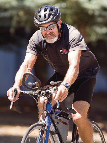 Moscow city councilman bikes across US