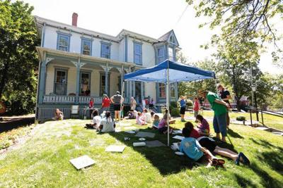 Mcconnell Mansion Lawn Becomes A Canvas Local Dnews Com