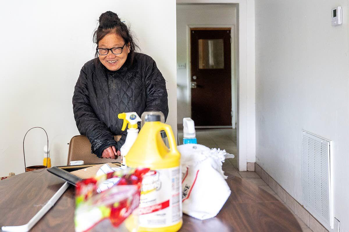 Lewiston woman gets unexpected helping hand