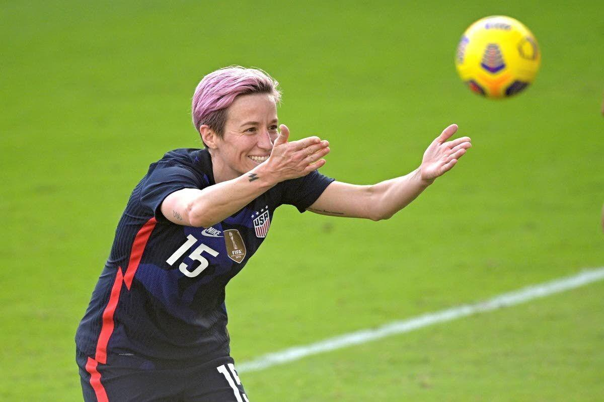 Press, Rapinoe score, U.S. beats Brazil 2-0 in SheBelieves Cup