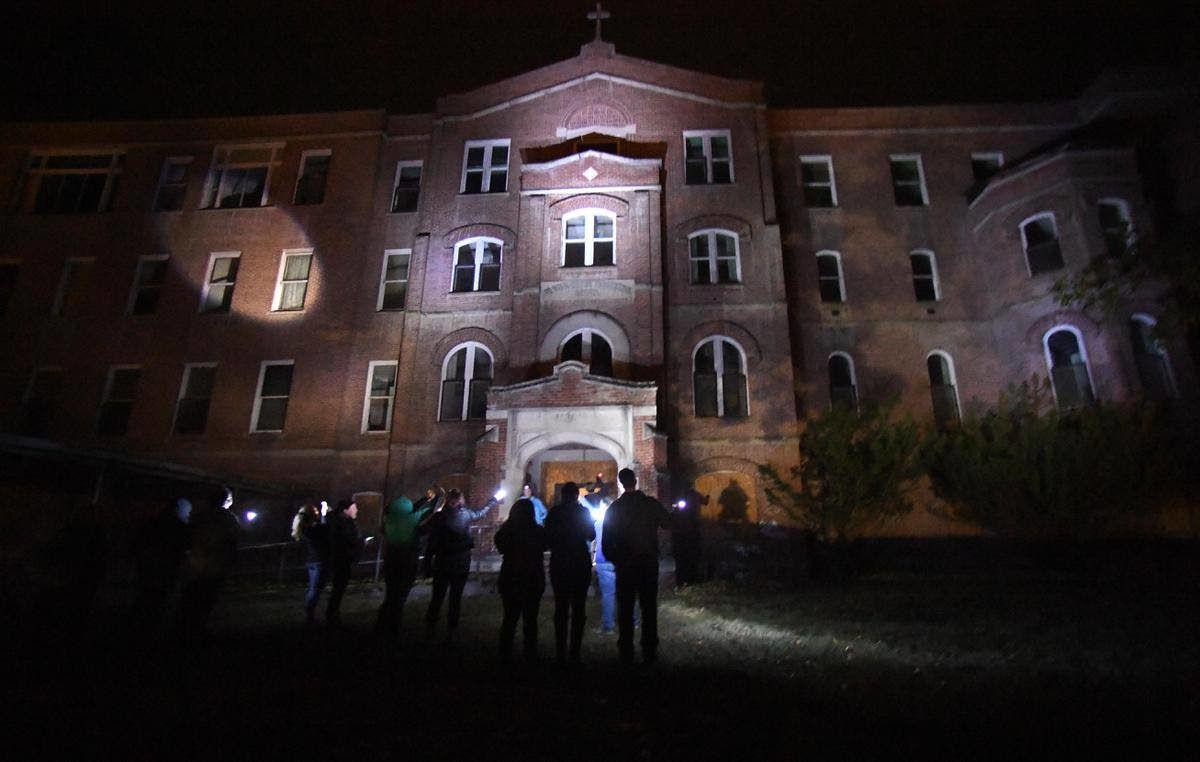 TV show claims proof of ghosts at St. Ignatius Hospital in Colfax; no tours scheduled