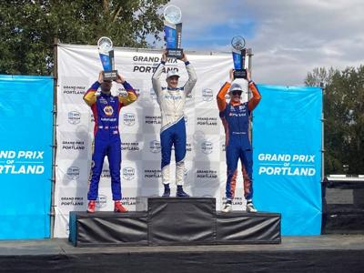 Palou recovers in Portland for 3rd win, IndyCar lead