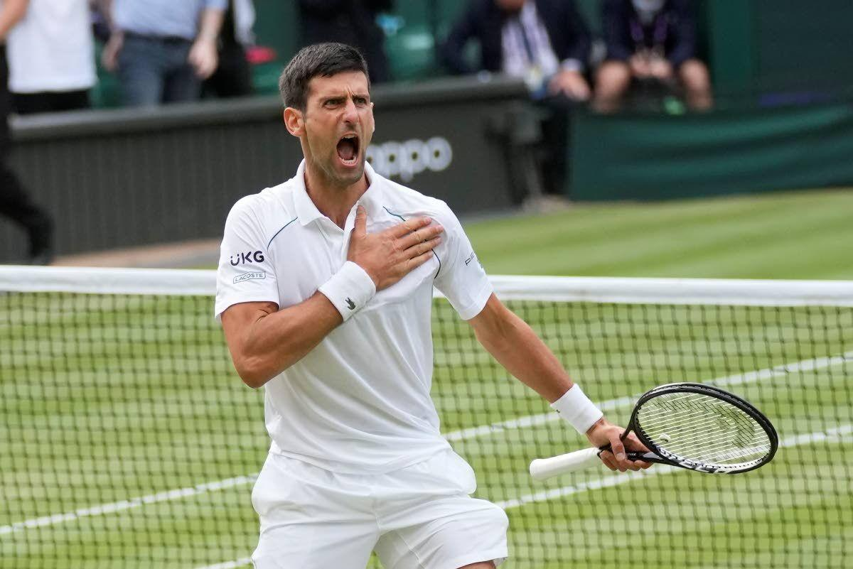 Novak Djokovic back in Wimbledon final