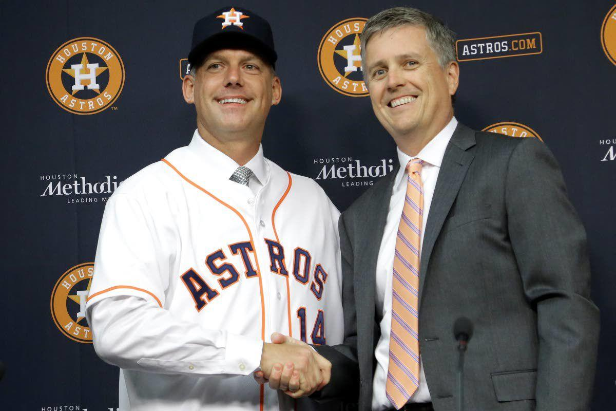 Hinch, GM fired for Astros' sign stealing after MLB bans pair