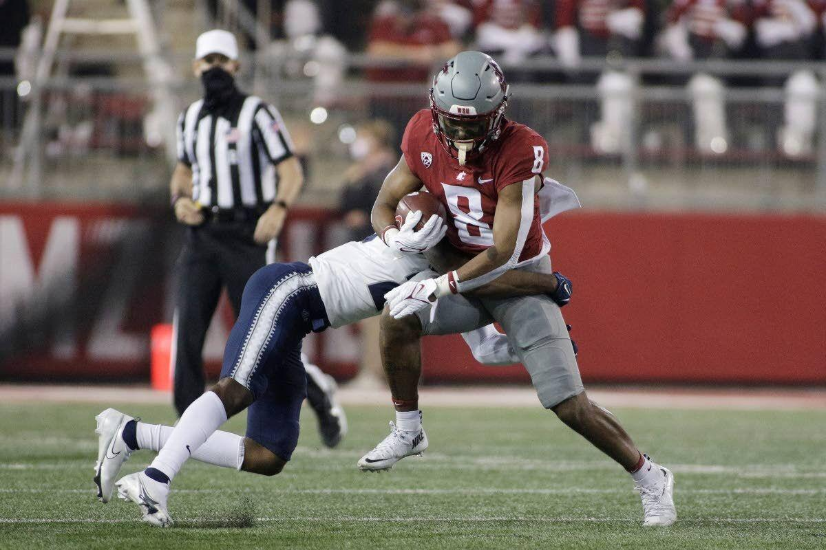 Jackson makes solid debut in slot for Cougs