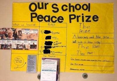 Sunnyside creates 'Our School Peace Prize'