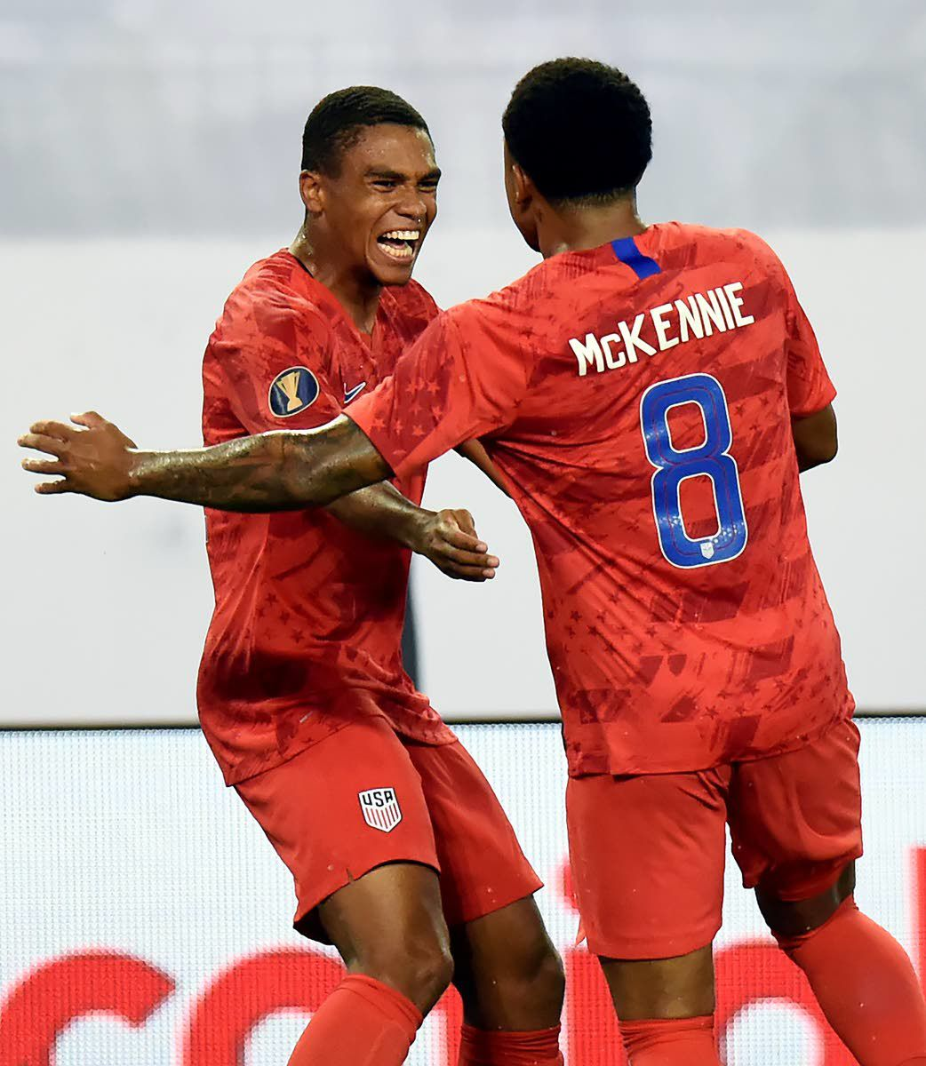 Pulisic leads U.S. to 3-1 Gold Cup semifinal win over Jamaica