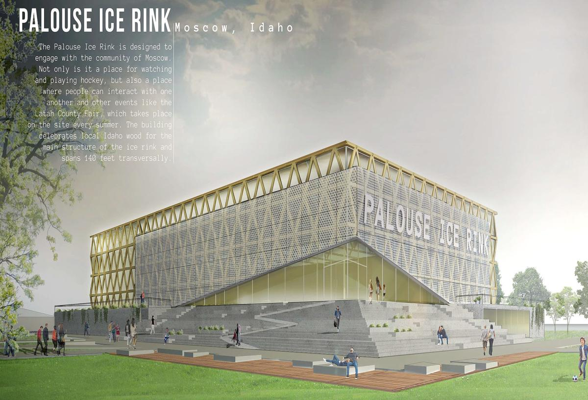 Palouse Ice Rink reimagined in conceptual architecture competition